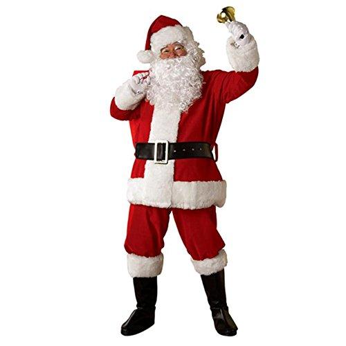 Alextry Weihnachtsmannkostüm, Plüsch, 5 ()