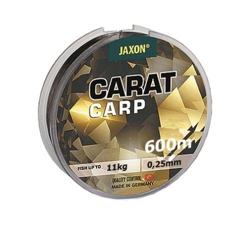 Jaxon Angelschnur Carat CARP 600m Spule Monofile Karpfen Schnur TOP (0,018€/m) (0,25mm / 11kg)