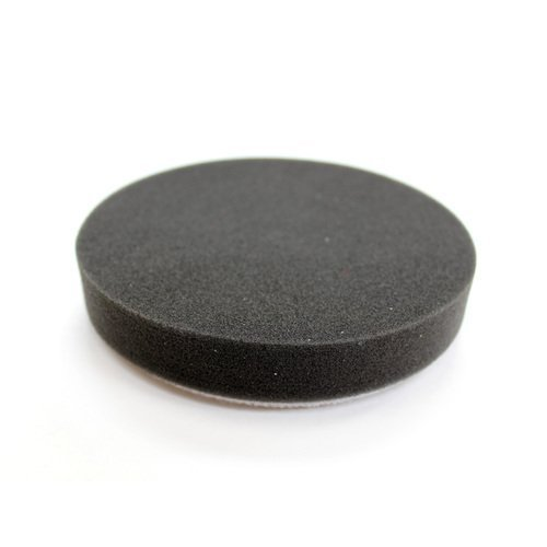 Buff and Shine 5.5-inch Black Foam Finishing Pad by Buff and Shine (Shine Pads And Buff)