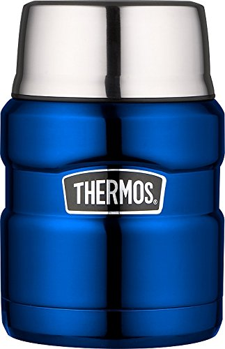 Picture of Thermos King Flask Vacuum Insulated Food Flask 470ml/710ml Metallic Blue