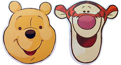 Disneys Charakter Winnie The Pooh - Doppelpack -2 Verschiedene Masken - Gesichtsmasken aus steifen Karten - Offizielles Produkt von Disney (Halloween The Pooh Winnie)