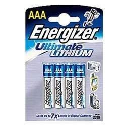 Galleria fotografica 4 batterie litio ENERGIZER 11X 1,5V