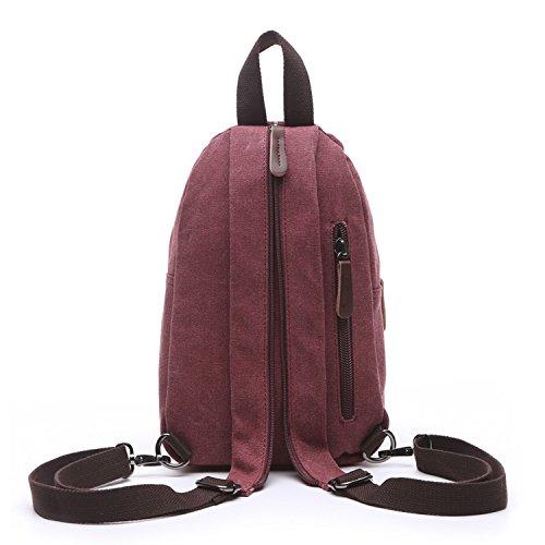 3941db6ee9 ... Outreo Donna Zaino Scuola Borsa Moda Casual Daypack Zaini Firmate  Borsetta Viaggio Backpack Università Borsello Vintage