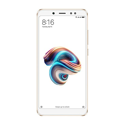 "Xiaomi Redmi Note 5 - Smartphone de 5.99"" (Octa-Core 1.8 GHz, RAM de 3 GB, Memoria de 32 GB, cámara DE 12+5 MP, Android 8.0) Color Oro"