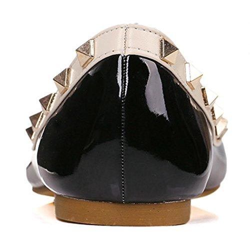 Fereshte - Sandales Compensées Pour Femmes Black (02 Noir)