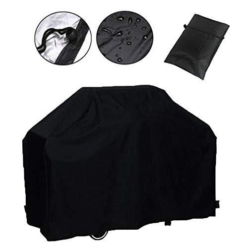 Kentop Housse de protection étanche pour barbecue et grill 145×61×117CM Noir