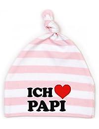 Mikalino Baby Mütze Ich liebe Papi