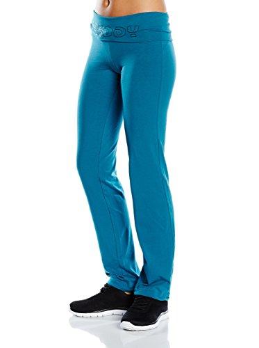 pantalon+débardeurs Freddy Femmes Mod. YOGAFIT3TS Ocean