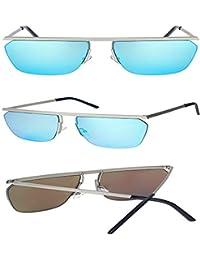 91af496f0e SenDi Gafas de sol - Caja grande personalidad calle beat marea gafas de sol  exageradas damas