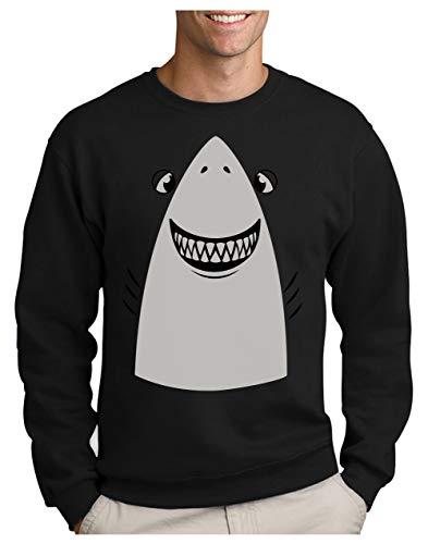 Green Turtle T-Shirts Halloween Déguisement de Requin Facile à Porter Sweatshirt Homme Medium Noir