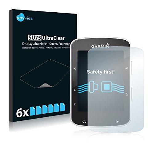 6x-Savvies-Pellicola-Protettiva-per-Garmin-Edge-820-Protezione-Proteggi-Schermo-Trasparente