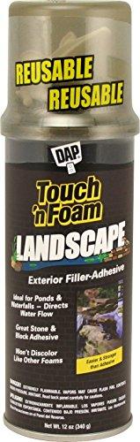 Touch N Foam 4001141212Landschaftsbau Polyurethan-Versiegelungsmittel–Schwarz