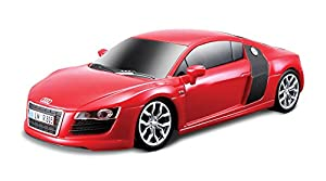 Maisto Tech MotoSounds 1/24 Audi R8 V10 Rojo-Maisto 81225, Color