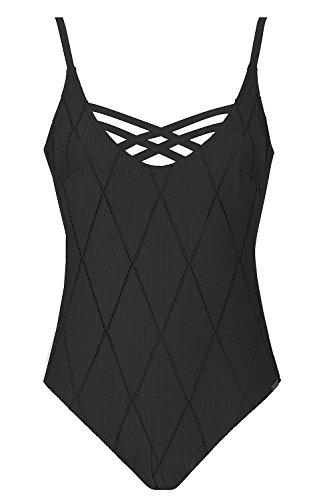 Maryan Mehlhorn - Costume intero - Donna, Nero, 55C