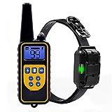 NINGXUE Dog training waterproof pet dog collar, automatic electric shock dog training clothes