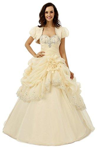 ebelz-womens-handflower-ruffle-sleeveless-laces-wedding-dress-bridal-ball-gown