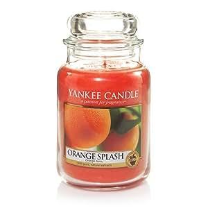 Yankee Candle Orange Splash 22oz Large Jar - New for 2014