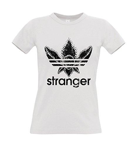 T-shirt donna stranger things serie tv, m