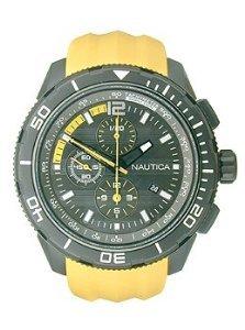 Nautica Herren NST 101N19629g gelb Silikon Quarz - Watch Nautica Gelb