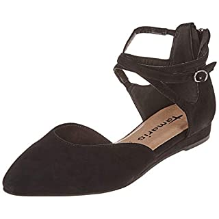 Tamaris Damen 1-1-24202-22 Slipper, Schwarz (Black 1), 39 EU