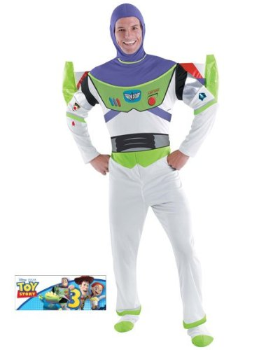 Deluxe Buzz Lightyear Costume - X-Large - Chest Size 42-46 by - Deluxe Buzz Lightyear Kostüm