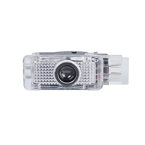 Preisvergleich Produktbild jdwg 1Paar Auto LED Projektor Tür Lampe Ghost Shadow Welcome Light-Laser-Logo Kit vom für alten Mercedes Benz SLK SLR CLK C Klasse W203C-Klasse W209