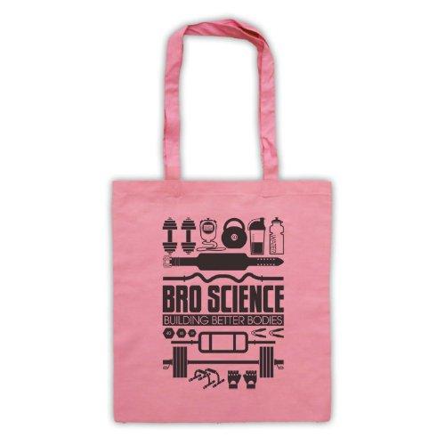 Bro Science Building Better Bodies borsa custodia Rosa