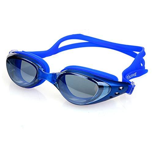 ZhaoZC Schwimmbrille Anti-Fog und Anti-Uv Belt Free Schutzhülle für Männer und Frauen Jugend wasserdicht Sonnenschutz,D (Nike Sonnenbrillen Jugend)
