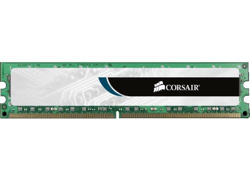 Corsair CMV4GX3M1A1333C9 Value Select 4GB (1x4GB) DDR3 1333 Mhz CL9 Mémoire pour ordinateur de bureau