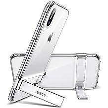 ESR Funda para iPhone XS MAX, Carcasa con Soporte de Metal [Soporte Vertical y