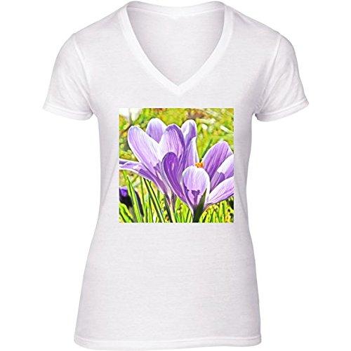 v-ausschnitt-weiss-damen-t-shirt-grosse-m-crocus-blume-by-wonderfuldreampicture
