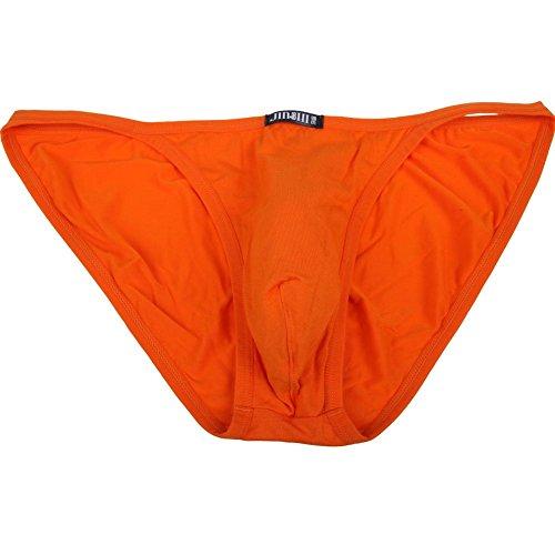 JINSHI Herren Bambusfaser sexy Slip Unterwäsche Triangle Unterhose Mehrfarbig - Multi-6Pack-01