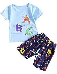 9a46a637efa44 wuayi - Ensemble de Pyjama - Bébé (garçon) 0 à 24 Mois