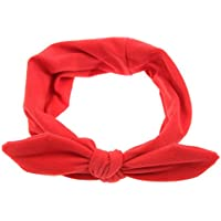 TININNA Donna annodate Bow Fascia per Capelli Cerchietto per Capelli Yoga  Wrap Testa Turbante Foulard Copricapo 4920bb477e5a