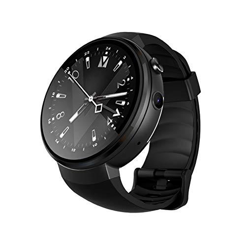 P12cheng Fitness-Smartwatch, Fitness-Aktivitätstracker,1,39 Zoll 1 + 16 GB Pulsmesser GPS-Kamera 4G Anruf Schrittzähler Smart Watch Schwarz (Handgelenk Voice Recorder)