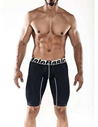 Male Basics MBM-004 Athletic Microfiber Boxer Black Mens Underwear