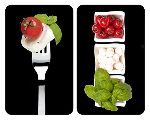 WENKO 2521451100 Cubre vitro de cocina Universal Caprese - juego de 2...