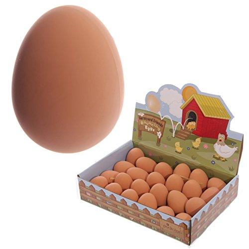 Palla pallina pazza a forma di uovo rimbalzante