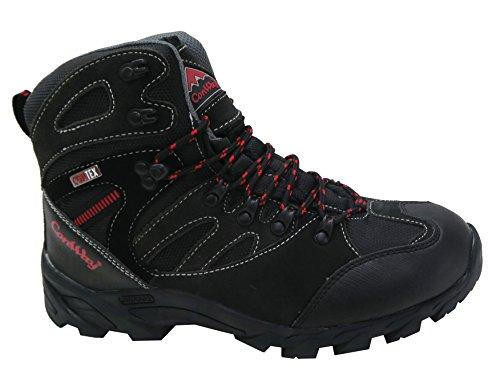 ConWay Unisex Trekking- und Wanderschuhe für Damen und Herren schwarz Gr.46
