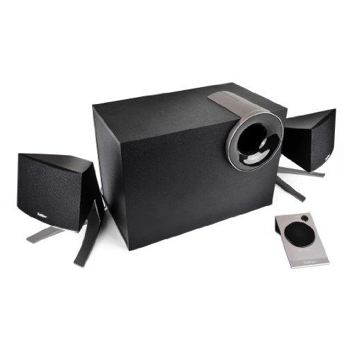 Preisvergleich Produktbild EDIFIER M1380 2.1 Lautsprechersystem (28 Watt) mit Kabelfernbedienung