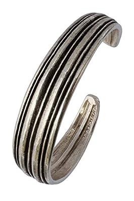"""Bracelet TOULHOAT """"sillons"""" argent 925"""