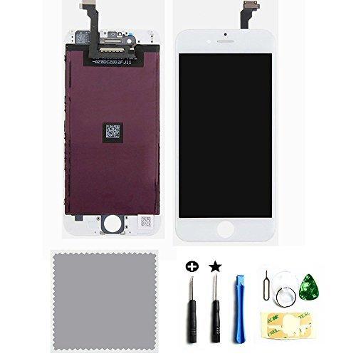 Ecran Tactile LCD Remplacement Vitre Digitizer Retiné pour iPhone 6 (4.7) Blanc avec Kit de Réparation