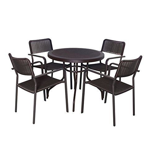 domi-5-piece-malaga-plastic-dinning-set-garden-furniture-1-round-patio-table-and-4-stacking-armchair