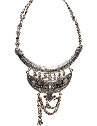 Aamoddhini Party Wear Western Fancy Designer Necklace Set For Women And Girls LN-63
