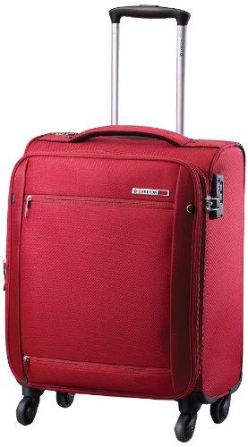 Carlton – Maleta mediana de 2 ruedas carlton o2 (color rojo carmesí)