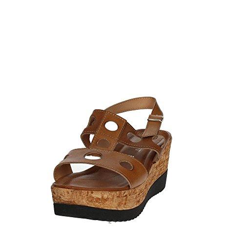 Cinzia Soft IAF 2836-28T 001 Sandale Femme Marron cuir