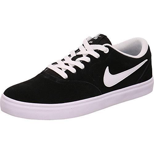 White Nike Sb (Nike Damen WMNS Sb Check Solar Fitnessschuhe, Schwarz (Black/White 001), 38 EU)