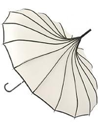 Topwedding preuve de vent parasol pagode, 6 couleurs avaialble