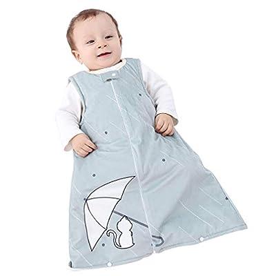 MICHLEY Bebe Saco Dormir niño y niña ropa de bebe Ideal para Entretiempo e Invierno