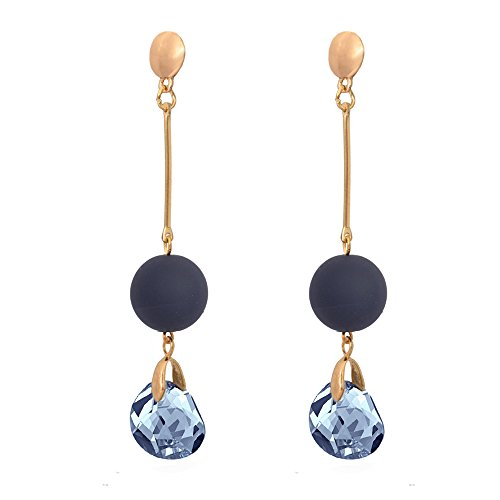 Sitashi Fashion Jewelry Trendy western wear matte finish Dangler Earrings For Girls and Women